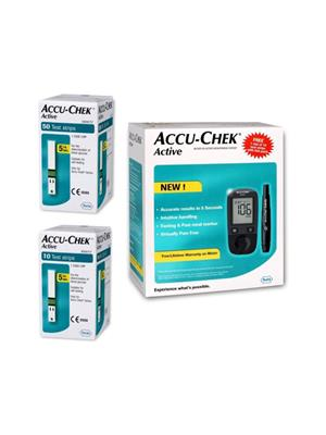 Accu-Chek Active Glucose Monitor with 50 Strips