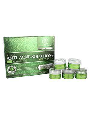 KHADI GEKHADI011 Mini Facial Kit (Anti-Acne Solutions-192 Gm) Facial Kit