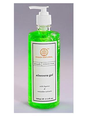 Khadi Gekhadi015 Natural Aloevera Gel 500Ml Aloevera Gel