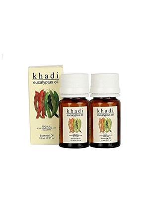 Khadi Gekhadi019 Eucalyptus Essential Oil - Pack Of 2 (30 Ml)