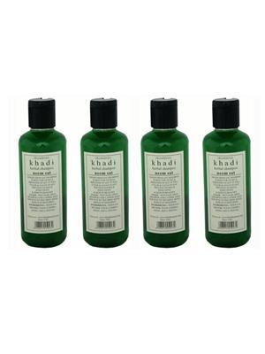 KHADI GEKHADI102 Hair Shampoo - Herbal - Neem Sat Shampoo - Combo Pack Of 4  Shampoo