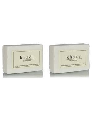 Khadi Gekhadi113 Jasmine Soap 125G (Pack Of 2) Soaps