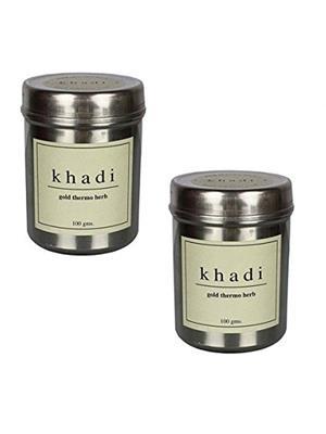 Khadi Gekhadi123 Gold Thermo Herb Face Pack (200 Gm)
