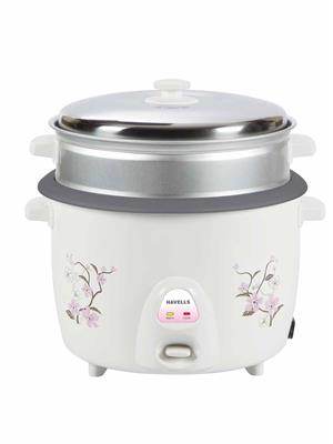 Havells GHCRCBMW090 White Rice Cooker