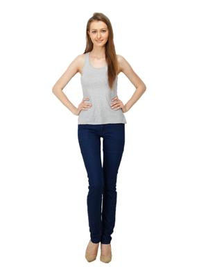 Ansh Fashion Wear Girl-D-Monkey Blue Women Jeans