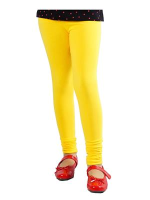 Jisha Fashion GLEGGING5-3 Yellow Girls Legging