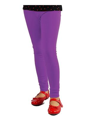 Jisha Fashion GLEGGING8-1 Purple Girls Legging