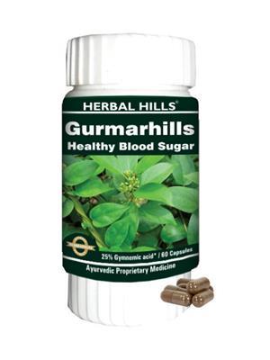 Herbal Hills Gm058 Natural Gurmarhills Capsule