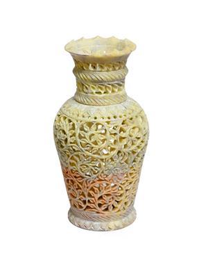 Artist Haat Brown Stone 1 Vase