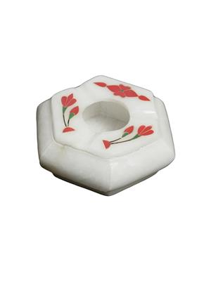 Artist Haat Multicolor Marble 1 Ashtray