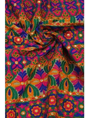Ginni Petite GP001 Multicolored Blouse Cotton Fabric