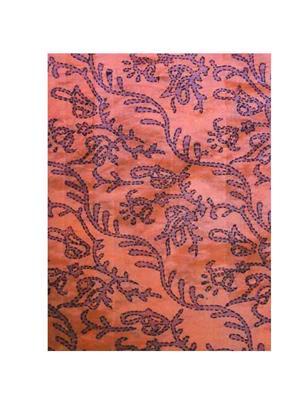 Ginni Petite GP027 Orange Blouse Cotton Fabric