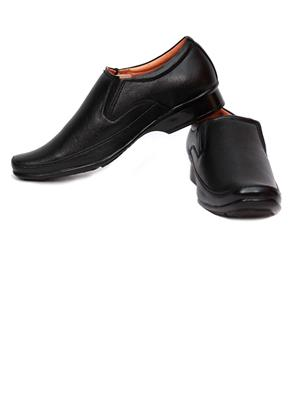 Grip 2201 Black  Men Formal Shoes