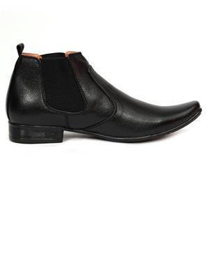 Grip 2636 Black  Men Formal Shoes