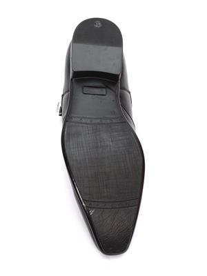 Grip 2636 Black  Men Formal Shoes