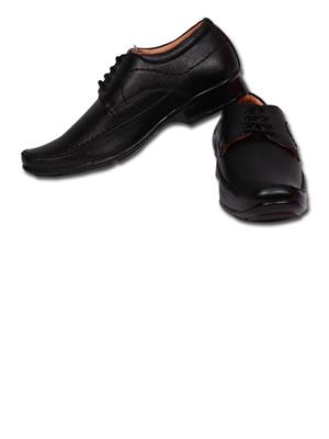 Grip 2256 Black  Men Formal Shoes