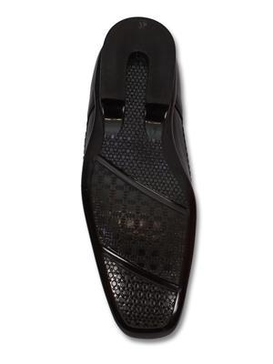 Grip 2256 Black  Men Formal Shoes