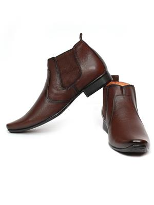 Grip 2636 Brown  Men Formal Shoes