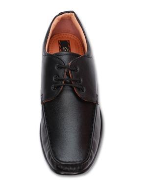 Grip 3601 Black  Men Formal Shoes