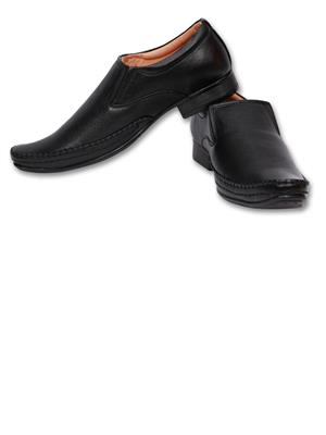 Grip 2632 Black  Men Formal Shoes