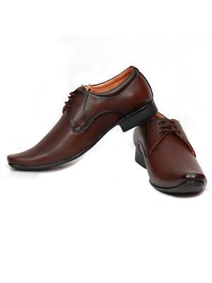 Grip 2626 Brown  Men Formal Shoes