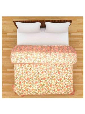 GRJ INDIA GRJ-DQ-137 Pink Double Bed Quilt