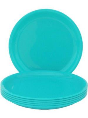 Ghar Sansar GS0029 Blue Plastic Plate Set of 6