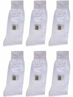 Gokul GS02  White Men socks