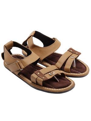 Royal Collection 193Br Brown Men Sandal