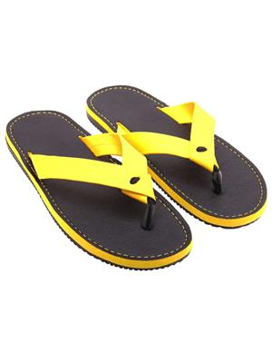 Royal Collection GS345Y Yellow Men Slipper