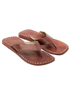 Royal Collection GS75BR Brown Men Slipper