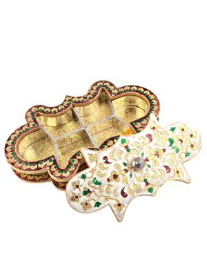 GS Museum GSM048 Multicolored Platters & Snack Servers