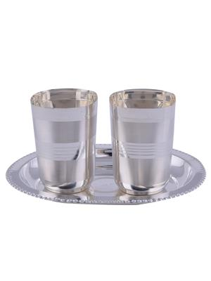 GS Museum GSM049 silver Glasses