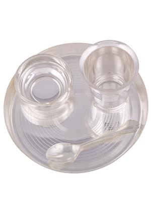 GS Museum GSM214 Silver Dinner Plates