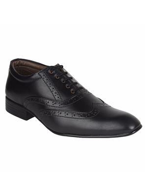 Guava GV15JA206 Black Men Formal Shoes