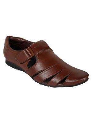 Guava GV15JA281 Brown Men Sandals