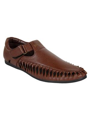 Guava GV15JA282 Brown Men Sandals