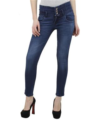 Hash 69 H1000 HARD Blue Women Jeans