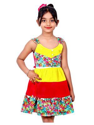 Hushbhi HB0011 Multi Girl Dress