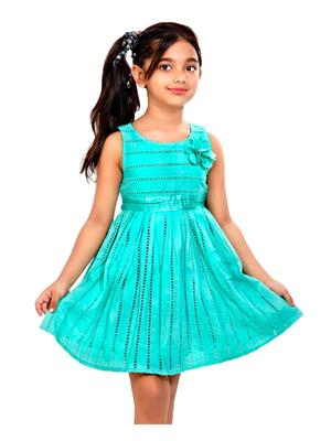 Hushbhi HB0015 Green Girl Dress