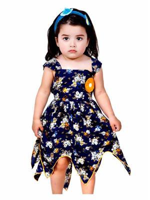Hushbhi HB0022 Blue Girl Dress