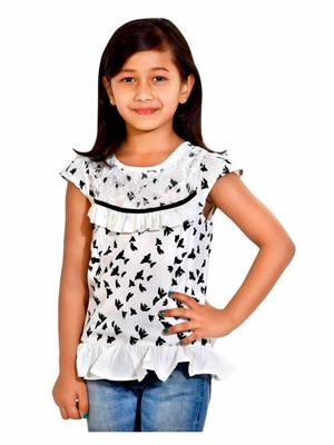 Hushbhi HB0032 White Girl Top