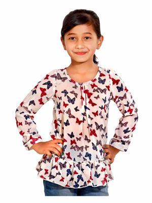 Hushbhi HB0033 Peach Girl Top