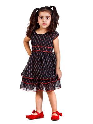 Hushbhi Hb0041 Multicolored Girl Dress