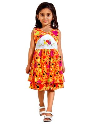 Hushbhi Hb0042 Multicolored Girl Dress