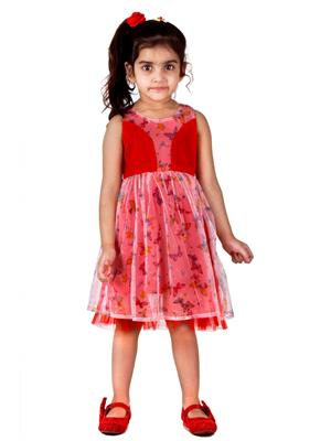 Hushbhi Hb0047 Multicolored Girl Dress