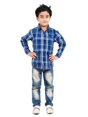 Hushbhi Hb0054 Multicolored Boy Casual Shirt