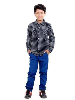 Hushbhi Hb0056 Multicolored Boy Casual Shirt