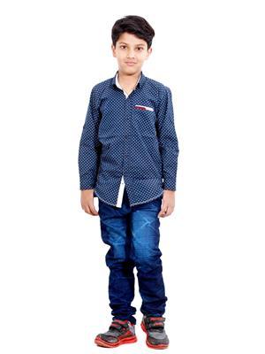 Hushbhi Hb0058 Multicolored Boy Casual Shirt
