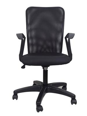 Hetal Enterprises HE10002 Black Office Chair